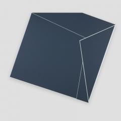 Black BOX  /  2018 - acrylic, canvas, wood