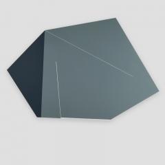 broken promise 569zzG1  /  2018 - 68x105x2cm - acrylic, canvas, wood