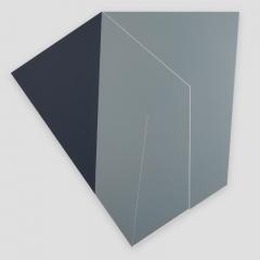 broken promise 692WER4  /  2018 - 110x108x2cm - acrylic, canvas, wood