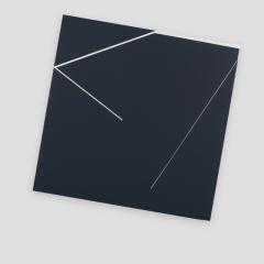broken promise 721K/  2018 - 45x45x4,5cm - acrylic, canvas, wood
