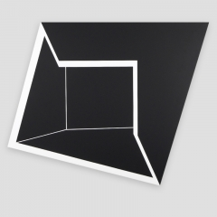 h7b2  /  2014 - acrylic, canvas, wood