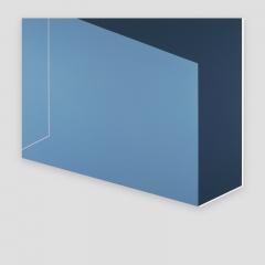 open the door  /  2018 -79x90x2cm - acrylic, canvas, wood