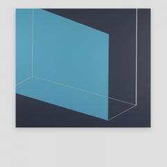 w-con. 683S  /  2017 - 70x83x5cm - acrylic, canvas, wood