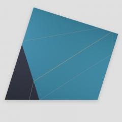 w-con. 725M  /  2017 - 85x95x5cm - acrylic, canvas, wood