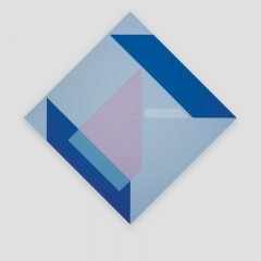 Blue BOX   /  2011 - 70x70cm - acrylic, canvas