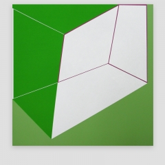 GLORIA   /  2009 - 102x102cm - acrylic, canvas