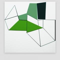 JOB   /  2009 - 102x102cm - acrylic, canvas