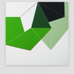 NIKK   /  2009 - 102x102cm - acrylic, canvas