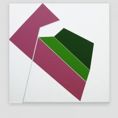 NOVI   /  2009 - 102x102cm - acrylic, canvas